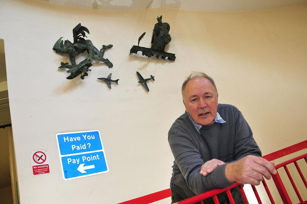 Sculpture honouring Kingston's aviation past