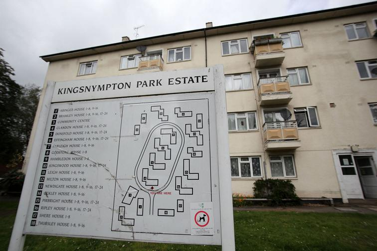The Kingsnympton estate is part of Kingston Council's Better Homes programme