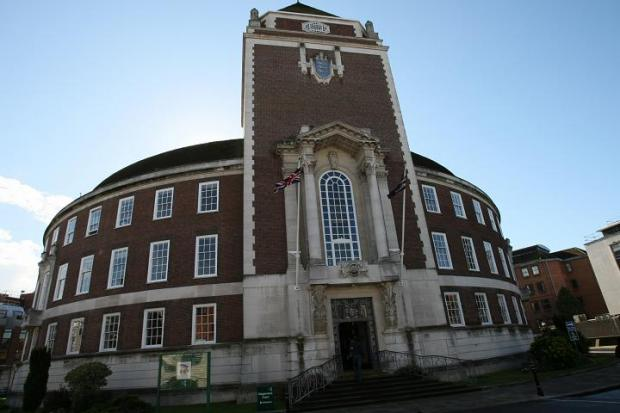 Surrey Comet: Guildhall: Criticised by the appeal adjudicator