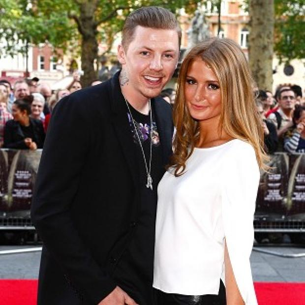 Millie Mackintosh is enjoying her time travelling to festival gigs with boyfriend Professor Green