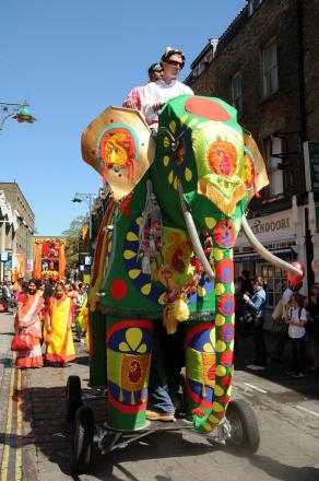 Giant mechanical elephant star of Kingston festival