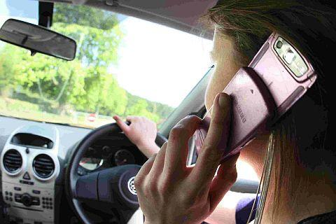Not always good to talk: It is illegal to drive while using a mobile phone