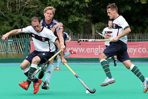 Up for the test: Surbiton's Tim Deakin, left, has high hopes for the coming campaign