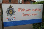 Surrey Police: Have made arrests but looking for witnesses