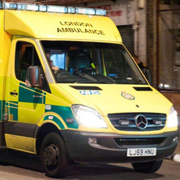 Woman and child hospitalised after Tolworth crash