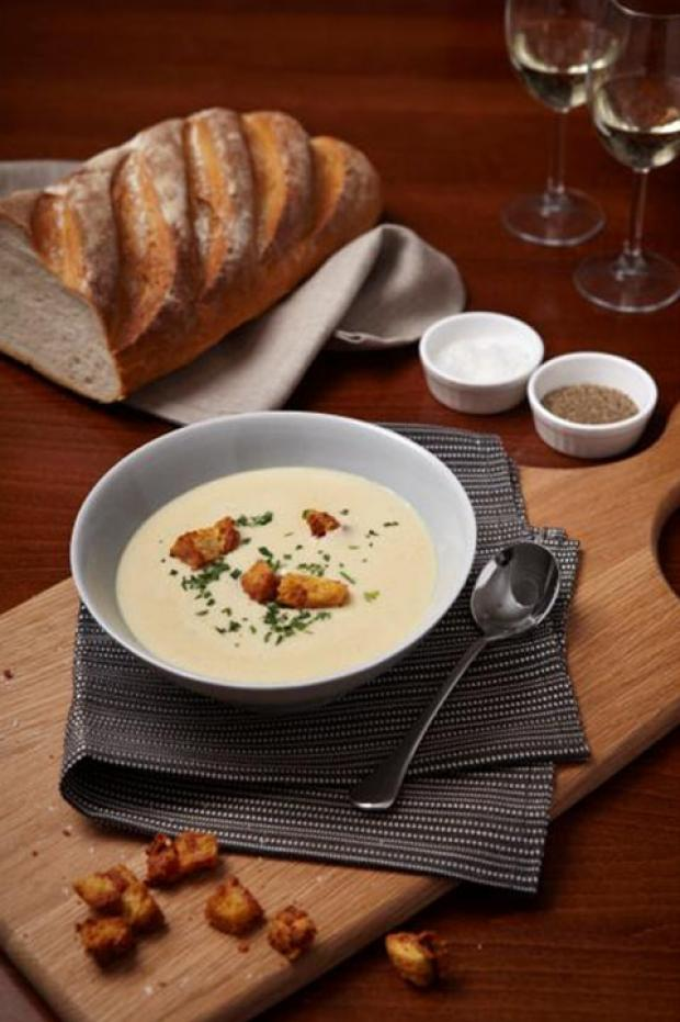 Recipe: Creamy Fenland Celery Soup with Stilton Cheese