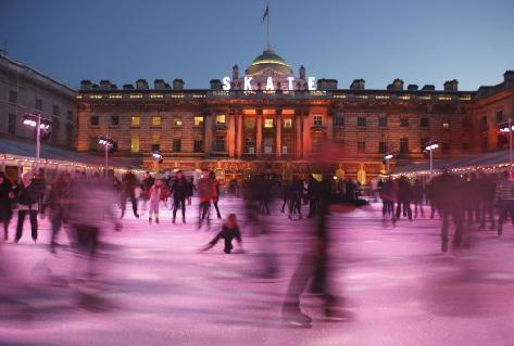 Surrey Comet: Skate at Somerset House