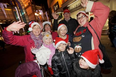 Cinderella escapes ugly sisters for Kingston Christmas lights switch-on