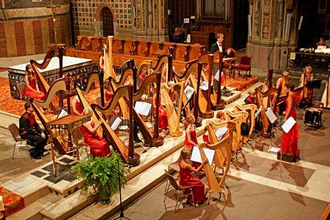 The International Harp Ensemble will be performing a Christmas concert at the Epsom Playhouse