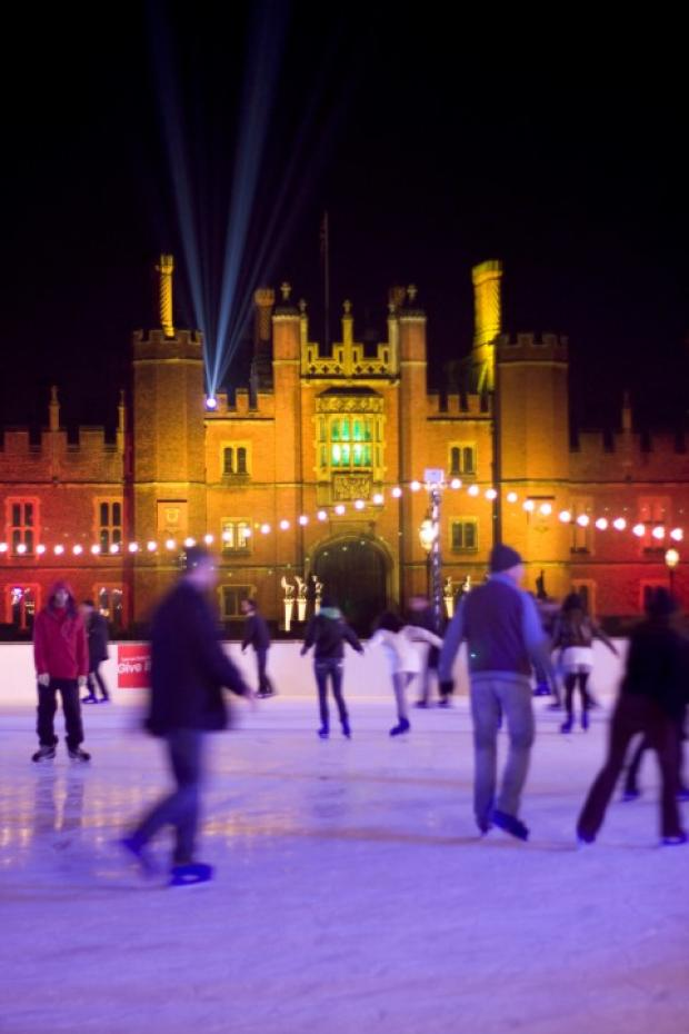 Majestic: Hampton Court Palace ice rink