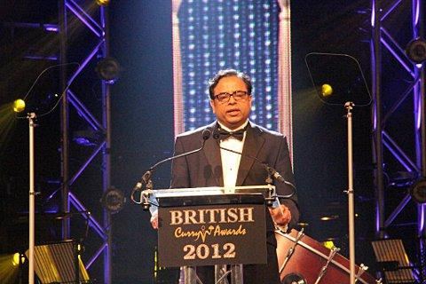 Founder of the annual British Curry Awards Enam Ali
