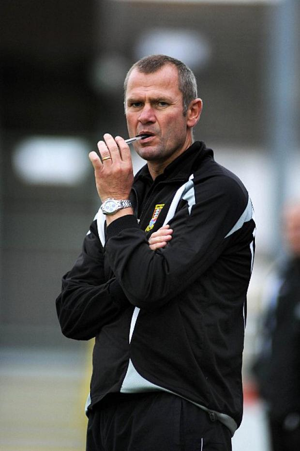 Making a change: Kingstonian boss Alan Dowson ponders the future as he gears up for a promotion push in 2013