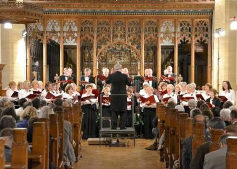 Festive performance at church by Thames Philharmonic Choir