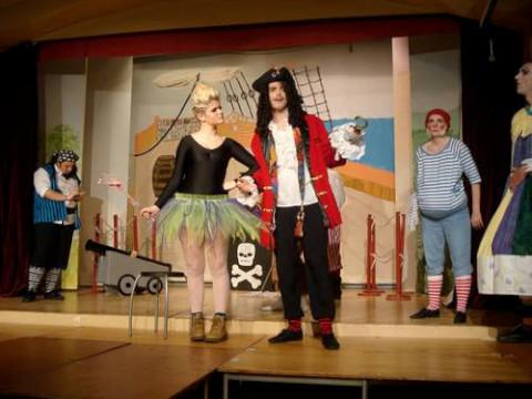 Captain Hook takes to the stage in Hook for St Paul's Players