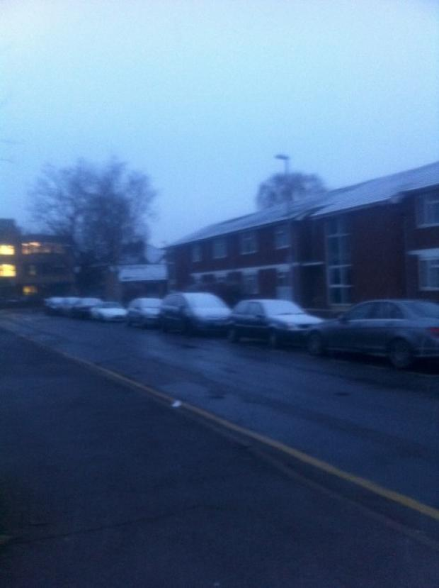 Light smattering of snow dusts Kingston