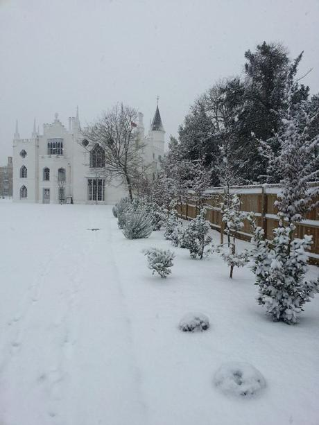 Beautifull picture of Strawberry Hill House sent in by Jenny Mayer