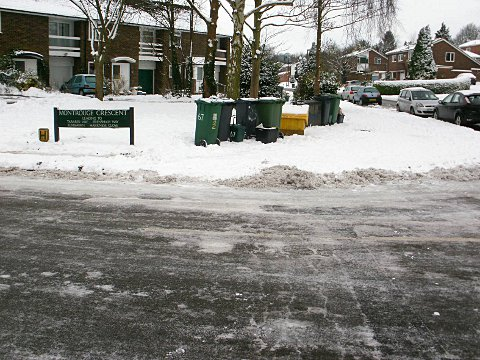"""Snow-bound"" after council demands £1,000 for grit bin"