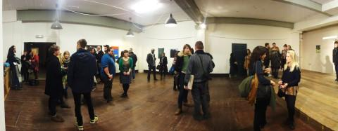 About 200 people attended the arts event at Matthews Yard