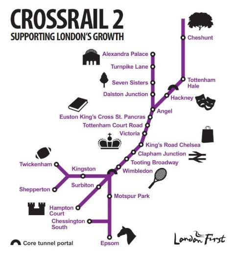 "Surrey Comet: ""Kingston to central London in 22 minutes"" - new Crossrail proposals backed by Boris"