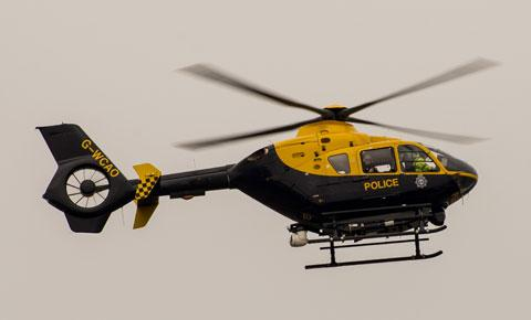 Police helicopter called as man pulled from Thames