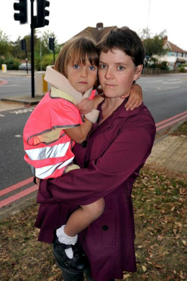 Jessica Yates' mother Sarah began a campaign after her daughter was hit by a motorbike
