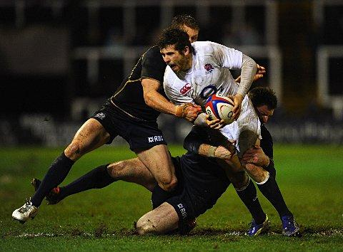 International call: England Saxons star and former London Scottish loanee Elliot Daly
