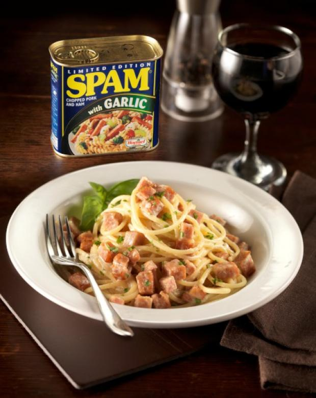 Recipe: SPAM™ONARA