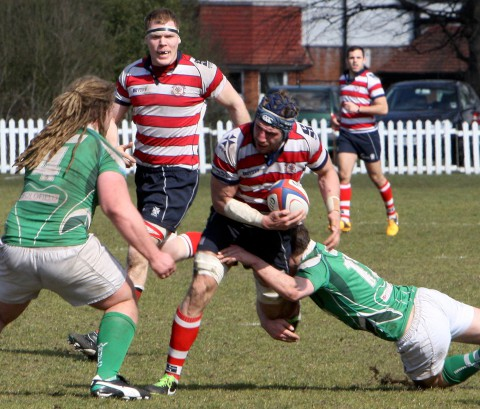 Surrey Comet: Rosslyn Park Harry Rowlands