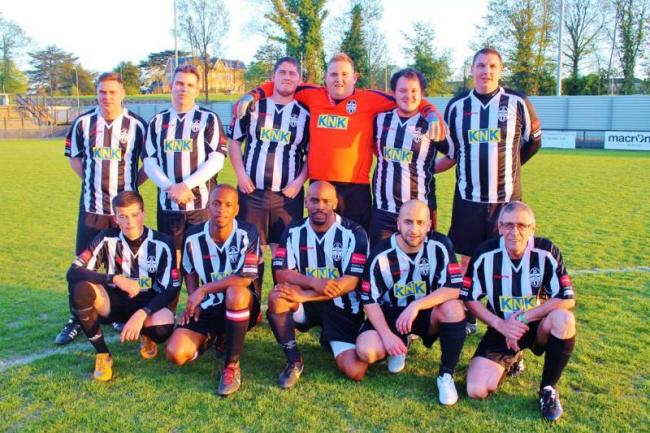 Mitcham and Tooting FC fans play against their heroes in charity cup match