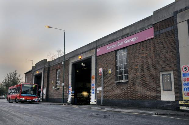 Surrey Comet: Sutton bus garage