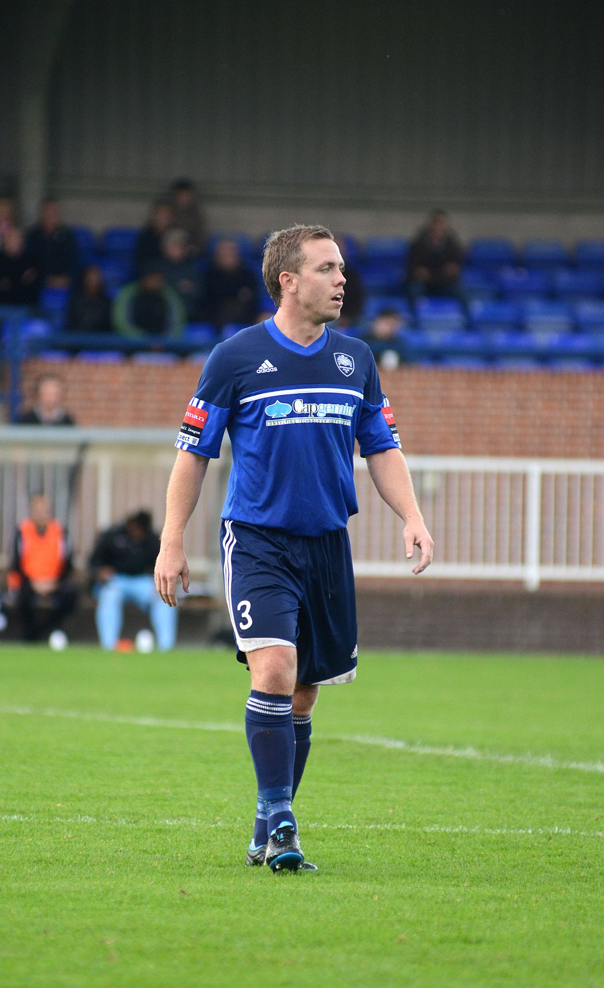 New man in charge: Craig Tanner in action for Met Police last season