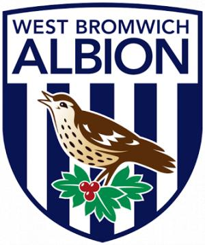 Surrey Comet: Football Team Logo for West Bromwich Albion