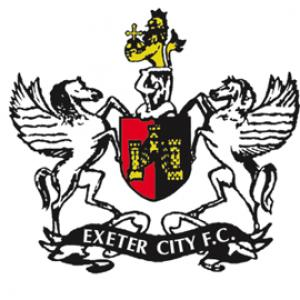 Surrey Comet: Football Team Logo for Exeter City