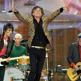 Surrey Comet: Mick Jagger from The Rolling Stones on stage during Barclaycard British Summer Time in Hyde Park
