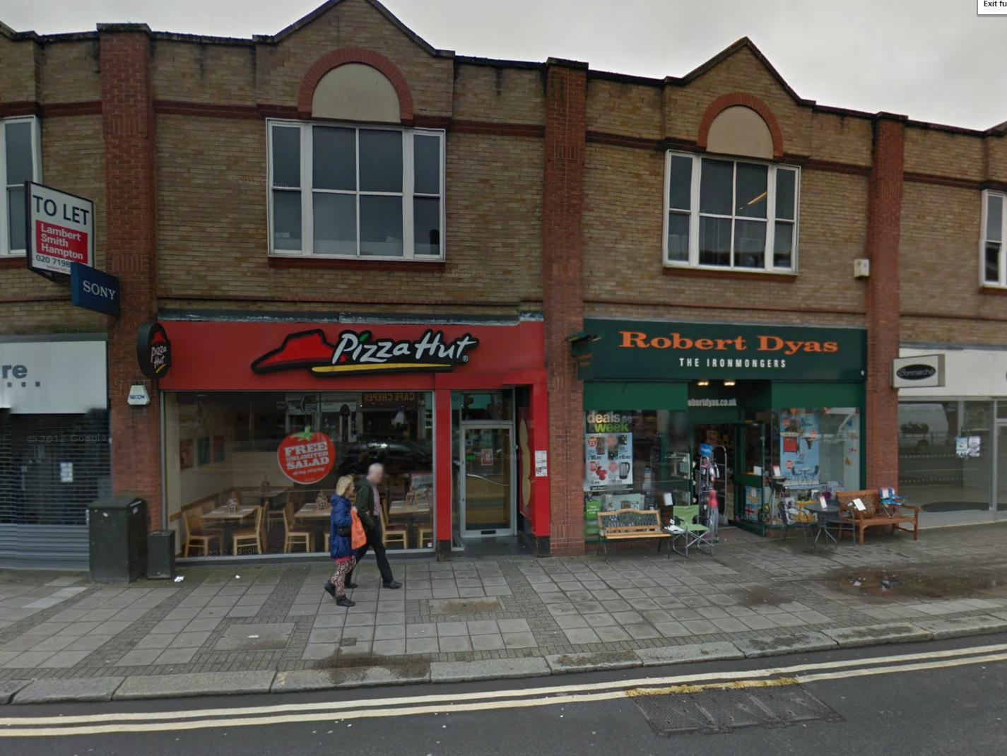 Pizza Hut Closes Down In Epsom High Street Surrey Comet