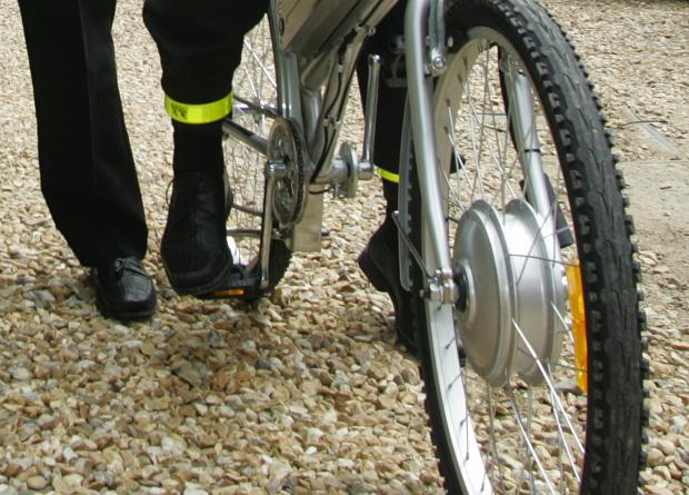 You can have your bike marked at Worcester Park Police Office in Central Road this weekend