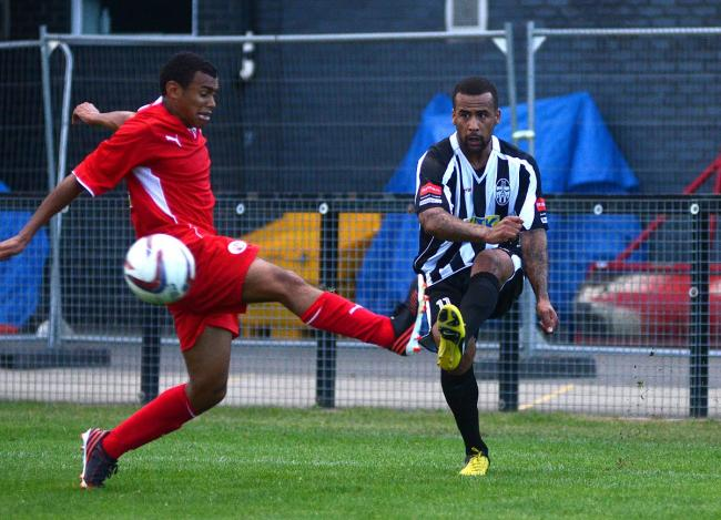 Feeling good: Lee Hall believes Tooting & Mitcham can surprise this season