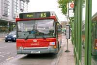 People power prompted Transport for London (TfL) to retain the popular K5. Deadlinepix MJ998