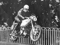 Ted rode for the AJS factory and competed in the Isle of Man TT.