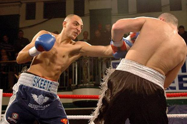 Surrey Comet: Step up: Bradley Skeete from Battersea is ready for the biggest challenge of his career so far