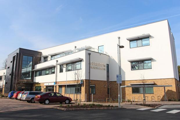 Surbiton Health Centre: needles found