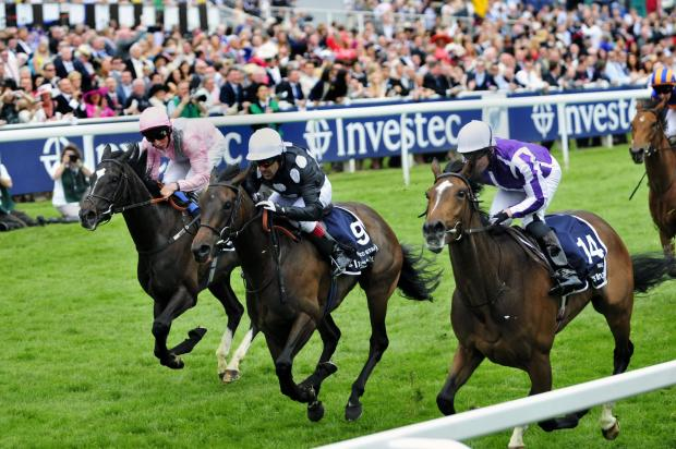 Surrey Comet: Horse racing at the Epsom Derby in 2012