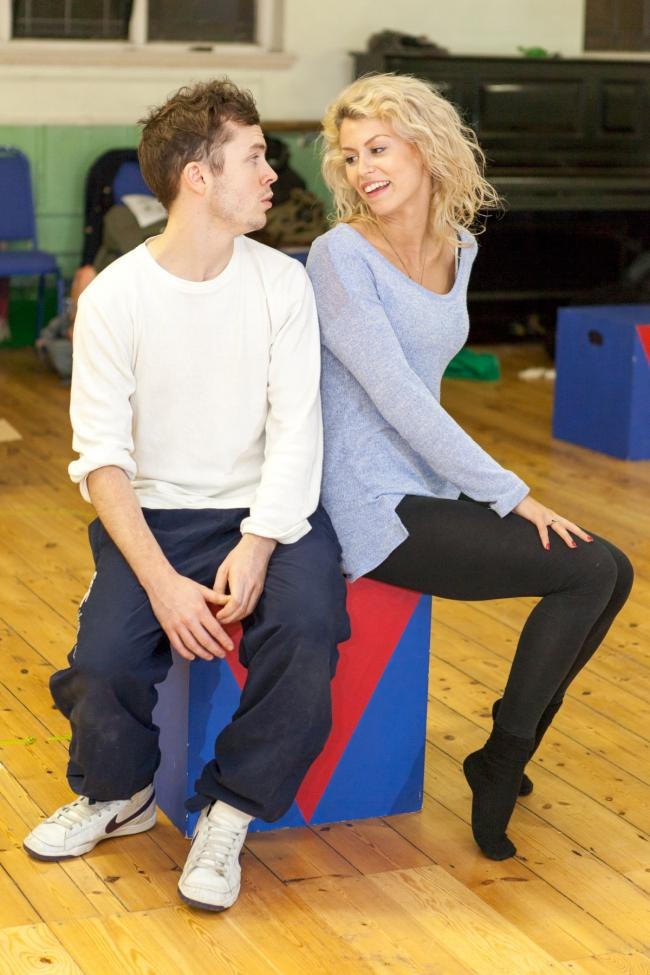 Ciaran Joyce and Lucy Hope-Borne, who play Sunny and Chloe