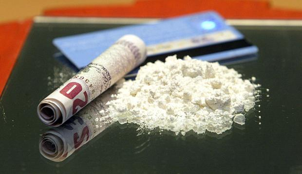 Several wraps of cocaine were found during the raid in Walton