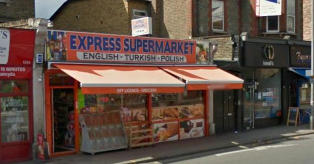 Express Supermarket has been banned from selling alcohol