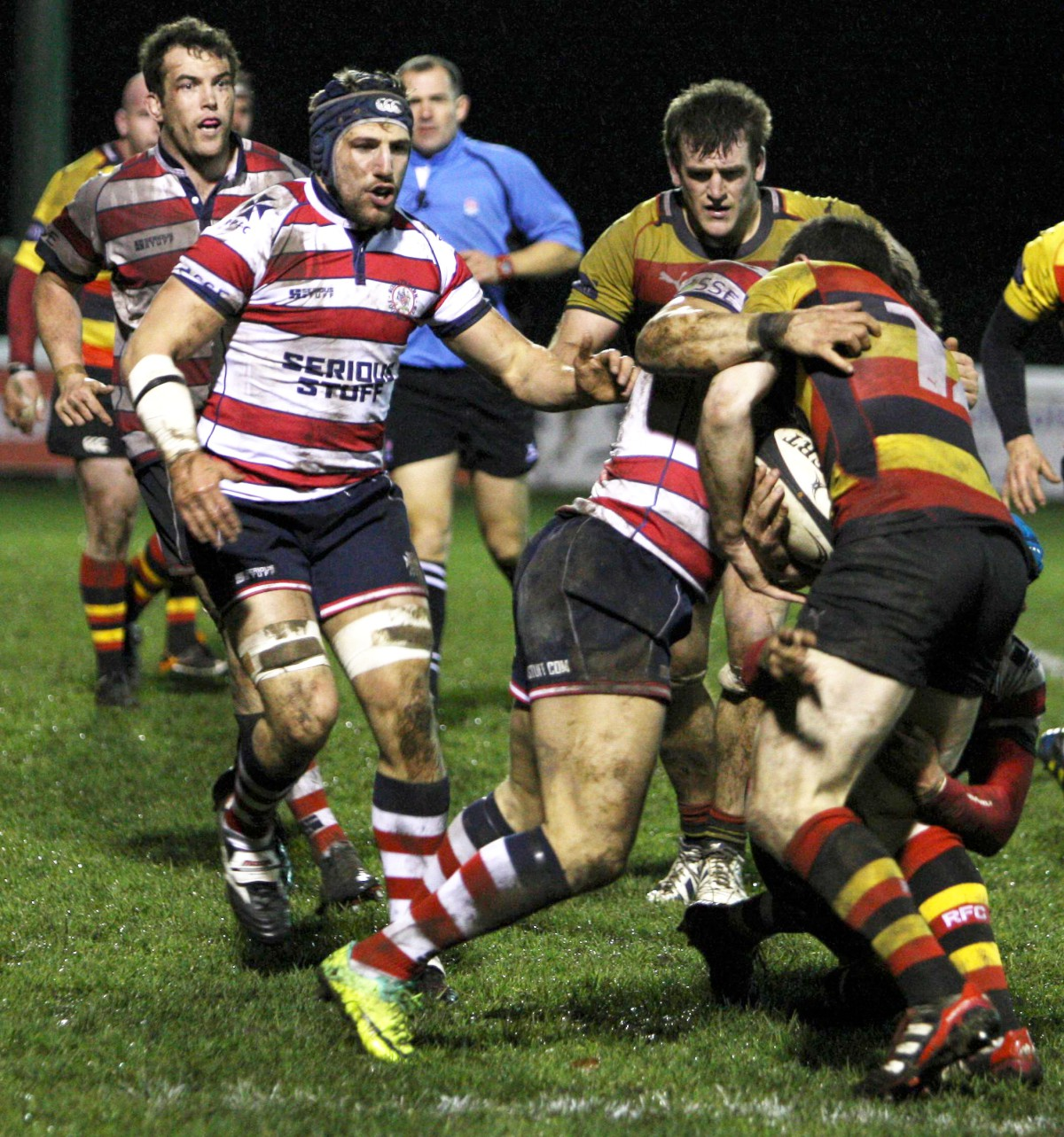Derby delight: Rosslyn Park were too strong for neighbours Richmond               Picture: David Whittam