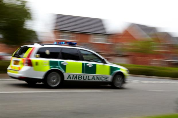 Paramedics were called to the Hook junction of the A3