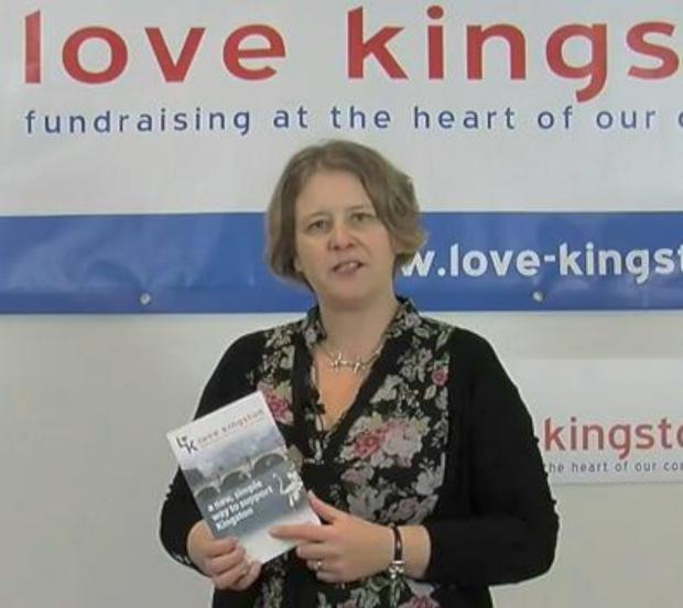 Kingston Council leader Liz Green delivers her Love Kingston message