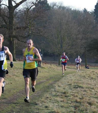 Team effort: Justin Macenhill was part of the men's team that finished third in Reigate