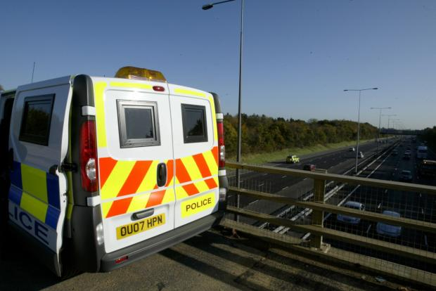 Surrey Comet: No speeding: Police are taking control of M25 cameras